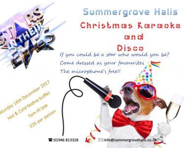 Christmas Karaoke - Summergrove Halls